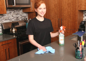Domestic Kitchen Cleanning